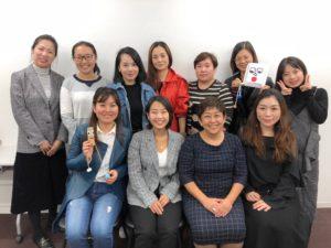 【海外向け保育研修】中国の保育所スタッフに向け、日本の教育についての研修を担当